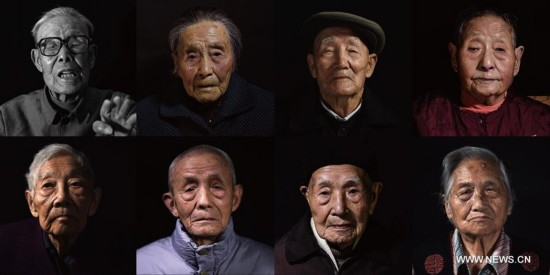 Pic story: Survivors of Nanjing Massacre