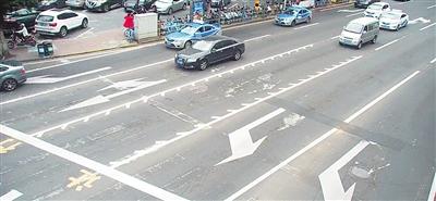 海口5个路口设置可变导向车道