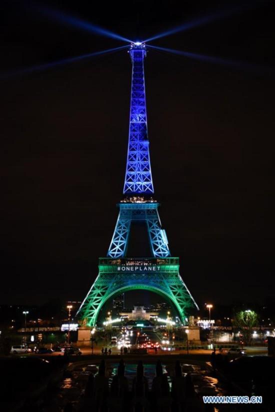 One Planet Summit held in Paris