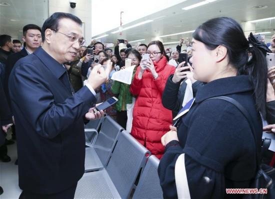 CHINA-HUBEI-LI KEQIANG-INSPECTION(CN)