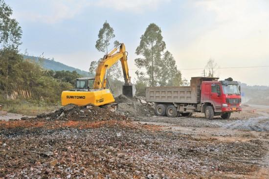 扶绥县环城路改扩建项目择期开工建设