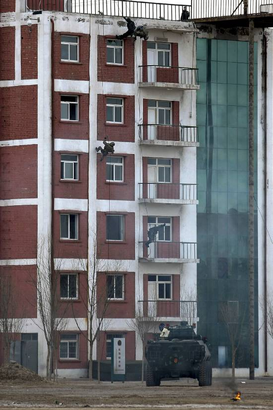 China-Russia joint drill sharpens anti-terrorism fight
