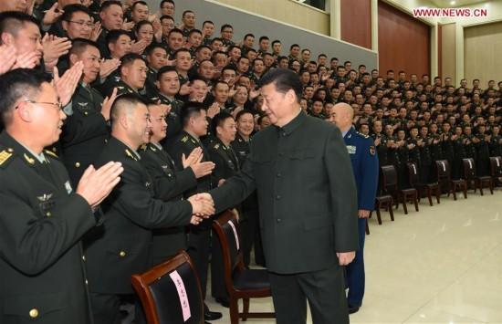 CHINA-XUZHOU-XI JINPING-ARMY-INSPECTION (CN)
