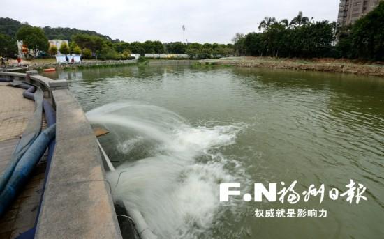 福州洪阵河暗涵段完成清淤 城区已有8条河道基本消除黑臭