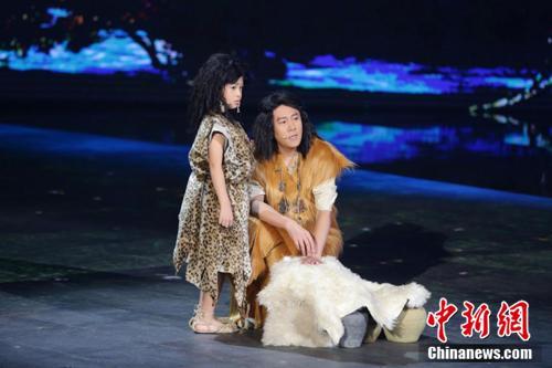 蔡国庆父子共同演绎国宝前世传奇