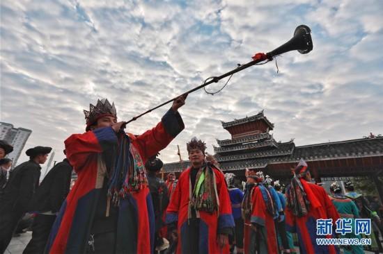 """贵州榕江:祭""""萨玛"""""""