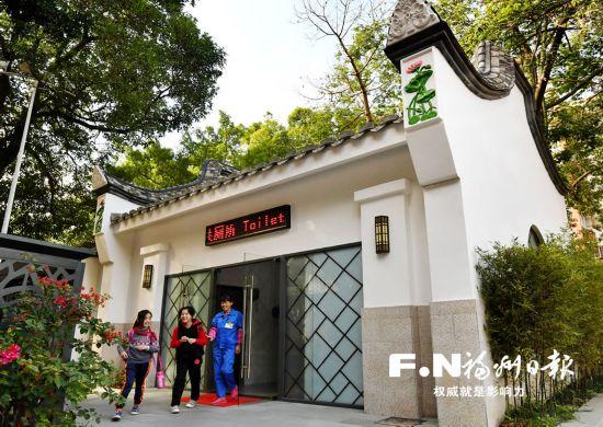 福州鼓楼打造家具v家具创新精美公厕城市红瑶图片