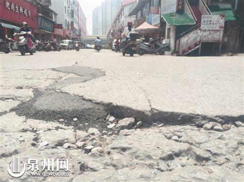 泉州市区田淮街(坪山路至刺桐路段)年底完成沥青化改造