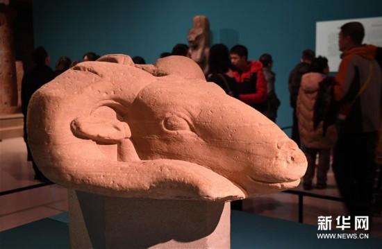 (文化)(2)古埃及文物展走进中原