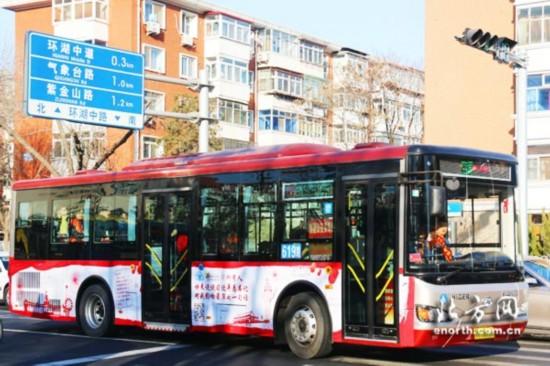 帥呆了!20萬網友抒寫十九大精神感悟主題公交車精彩亮相