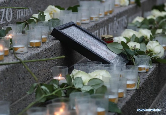 Commemoration of 1st anniv. of Christmas market attack held in Berlin