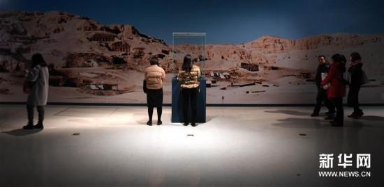 (文化)(1)古埃及文物展走进中原