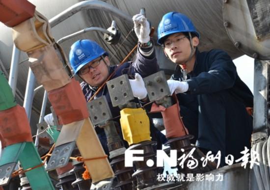 福州春节保电工作提前启动 供电部门检修忙