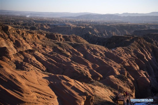 CHINA-SHAANXI-LARGE DANXIA LANDFORM (CN)