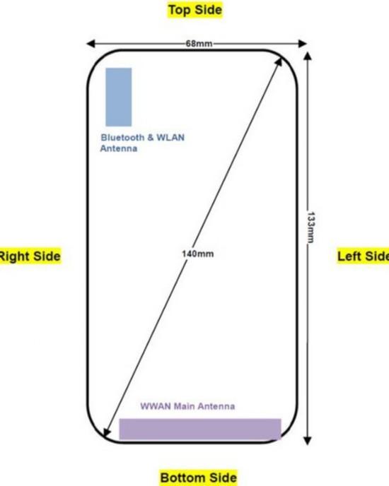 诺基亚E71复刻版渲染图(图片来自网络)