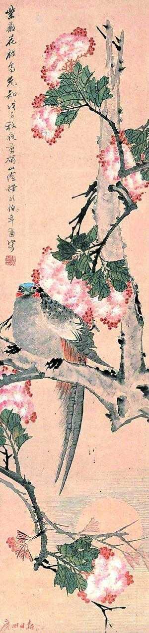 历代文人画家淡泊名利,对紫薇花不感兴趣
