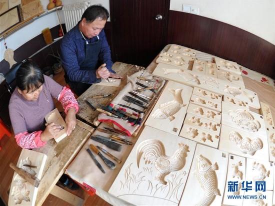 河北黄骅:百年面花模子在传承中创新
