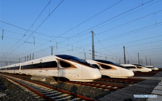 New train diagram to be put into operation in China