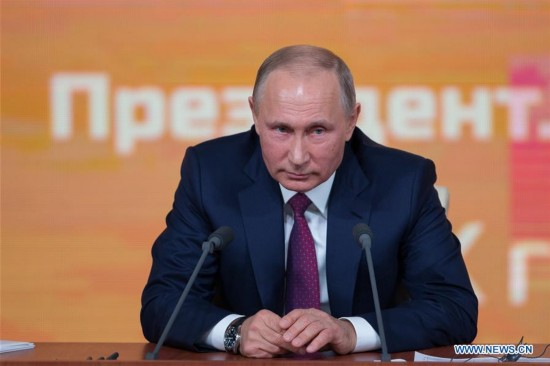 RUSSIA-MOSCOW-PUTIN-PRESS CONFERENCE