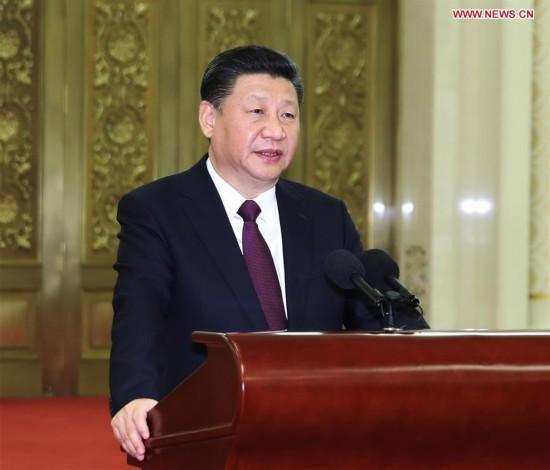 CHINA-BEIJING-XI JINPING-DIPLOMATIC ENVOYS-MEETING (CN)