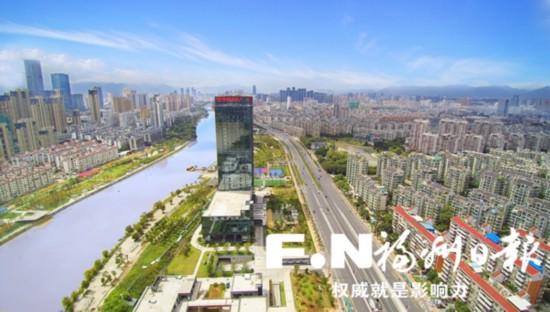 福州:天更蓝 水更清 地更绿