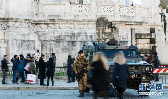 (国际)(1)欧洲各国新年前夕加强安保