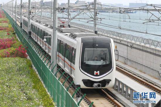 (新时代新气象新作为)(1)厦门地铁1号线开通试运营
