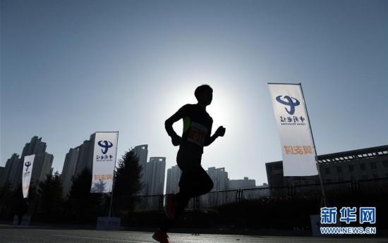 (體育)(1)全民健身——高原環城賽迎新年