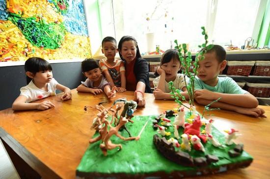 与幼儿园一起成长丰台最年轻园长蜕变记