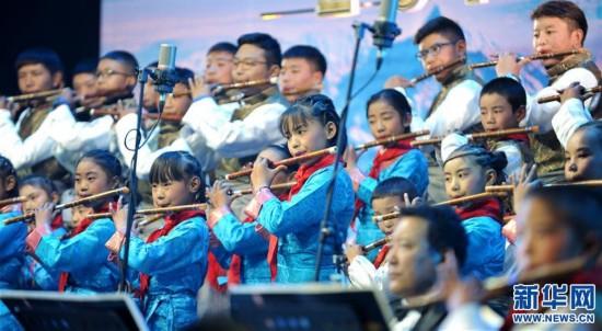 (图文互动)(2)西藏2018新年音乐会讲述西藏故事 演绎西藏旋律