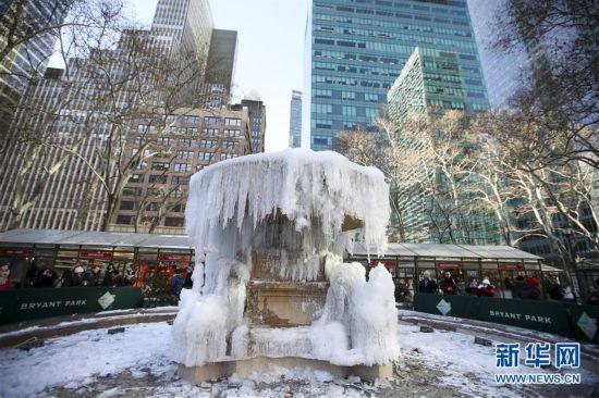 (国际)(1)美国东部遭遇罕见低温