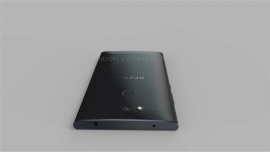 索尼入门手机渲染图曝光:后置指纹识别