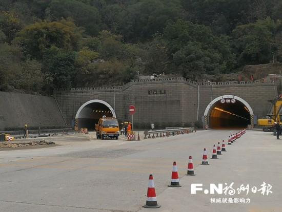 福州福马路鼓山、马尾隧道启动扩宽改造