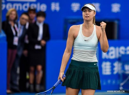 (SP)CHINA-SHENZHEN-TENNIS-WTA SHENZHEN OPEN