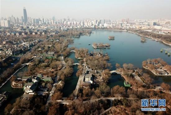(社会)(1)济南大明湖免费开放满一年 吸引游客超200万