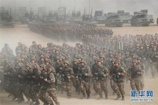 (新华全媒头条・图文互动)(1)备战踏上新起点,练兵展现新气象――2018中国军队新年开训全景大扫描