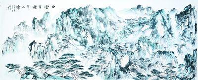 """林存安力图以沉静之风、虚灵之气,展现山水深邃之""""内美"""""""
