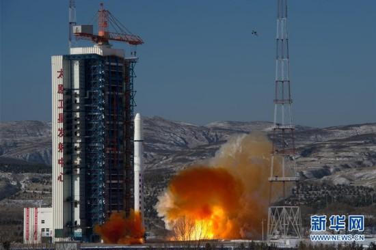 """(科技)(1)高景一号03、04星成功发射 中国航天发射2018年迎来""""开门红"""""""