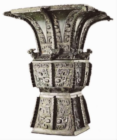 商晚期安阳青铜饕餮纹方尊拍出约合人民币2.57亿元