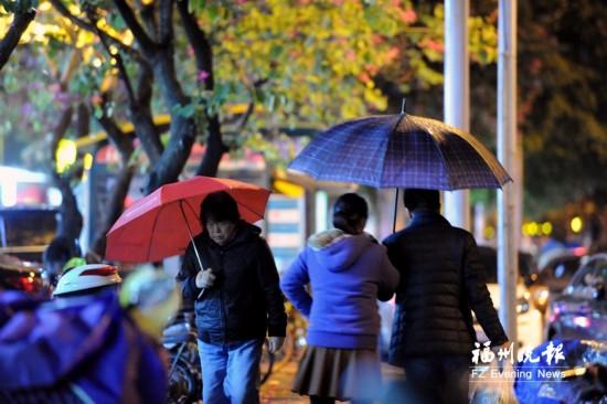 湿冷退场晴冷接棒 福州发布降温蓝色预警
