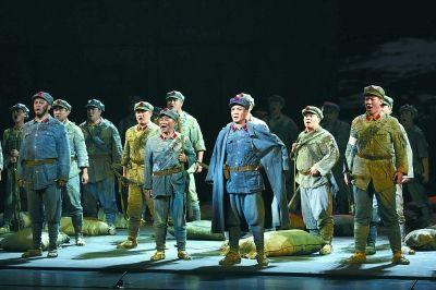 国家大剧院首次征战中国歌剧节《长征》连演两场满堂彩阿丘记录蒙曼
