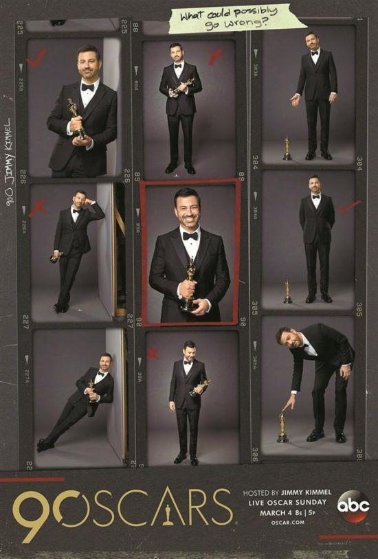 第90届奥斯卡金像奖主持人为吉米・坎摩尔