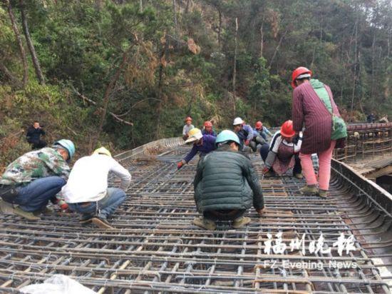 福清首条环山栈道春节前试开放 长1.7公里宽3.5米