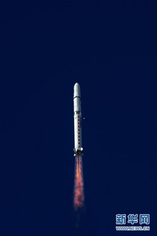 """(科技)(3)高景一号03、04星成功发射 中国航天发射2018年迎来""""开门红"""""""