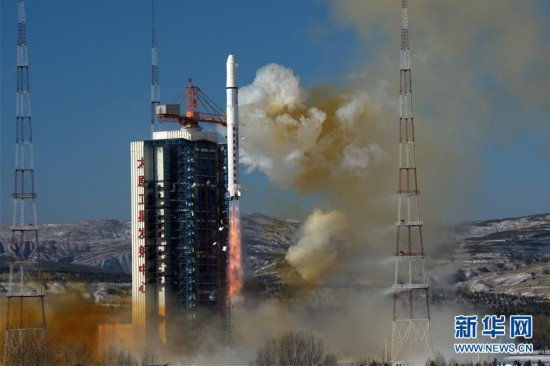 """(科技)(2)高景一号03、04星成功发射 中国航天发射2018年迎来""""开门红"""""""