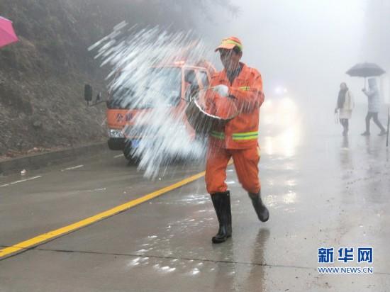 福建交通部门启动防路面结冰预案