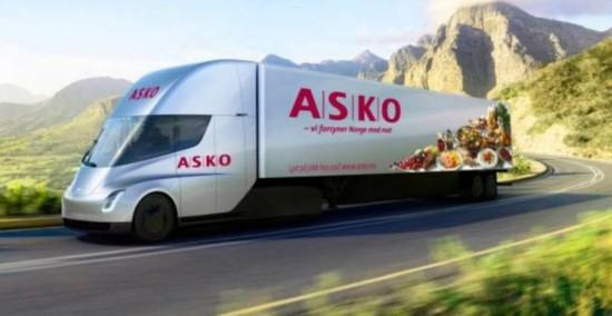 特斯拉电动半挂车欧洲预订启动 率先在挪威等三国上市