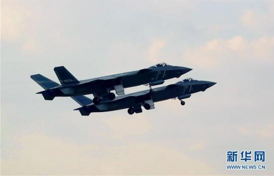 (图文互动)(3)中国空军歼-20等多型新机实战实训制胜空天