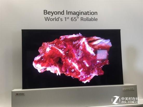 OLED卷轴电视亮相!LG Display展台探秘