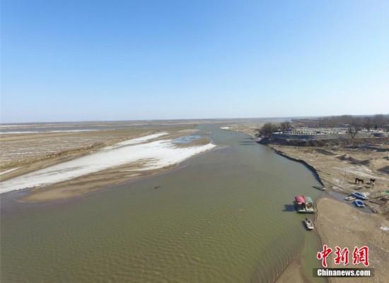 黄河进入凌汛期 中下游郑州段尚未现流凌